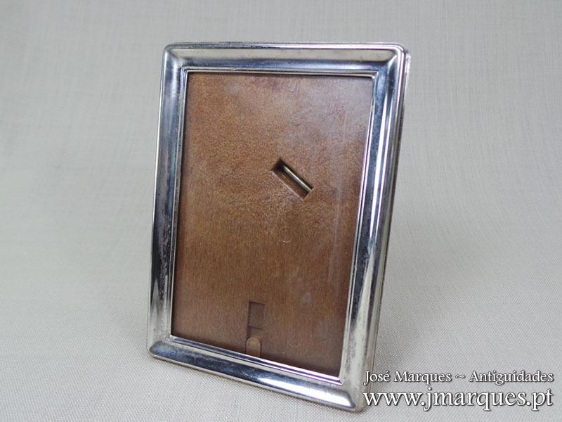 Moldura em prata