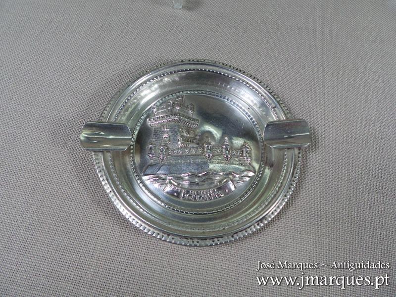 Cinzeiro em prata