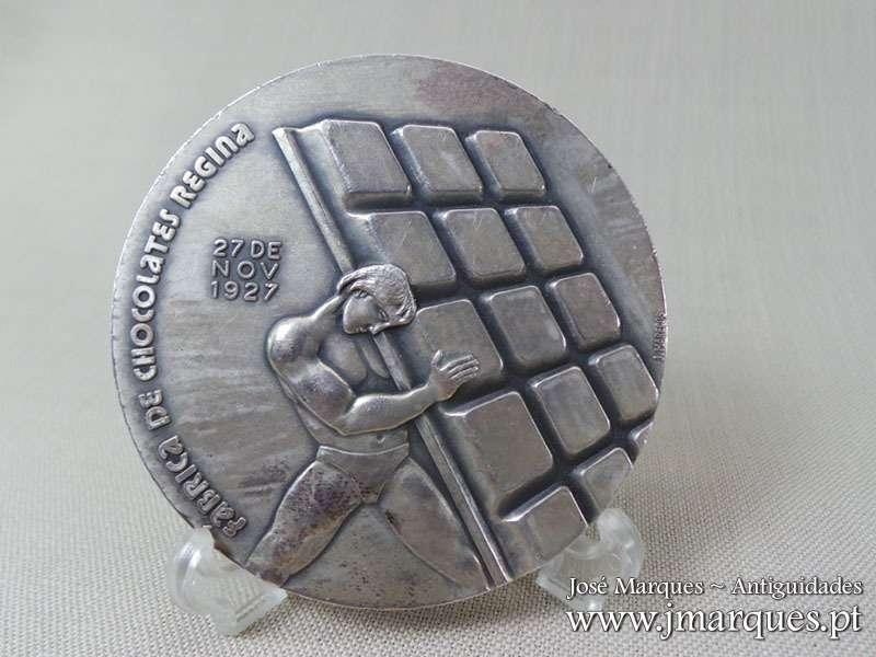 Medalha em prata