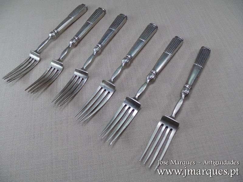 Conjunto de garfos