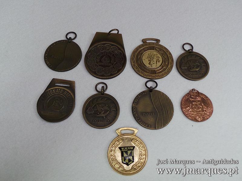 Lote de Medalhas