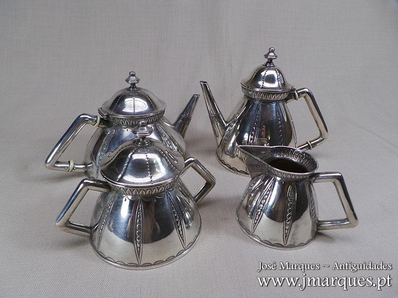 Serviço prata Javali