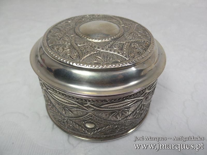 Guarda-jóias prata Javali