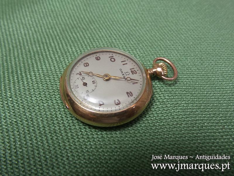 40eb35273c7 Relógio bolso OMEGA Ouro