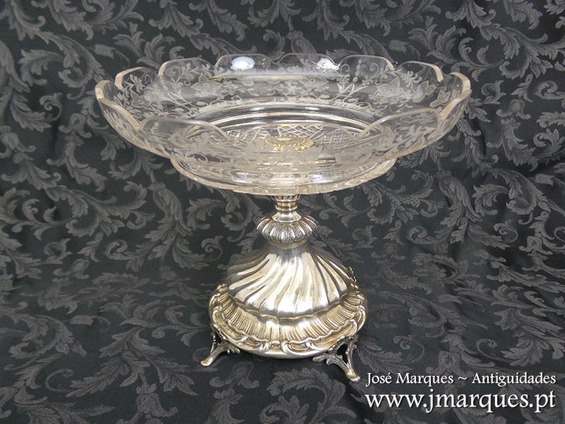Taça prata inglesa