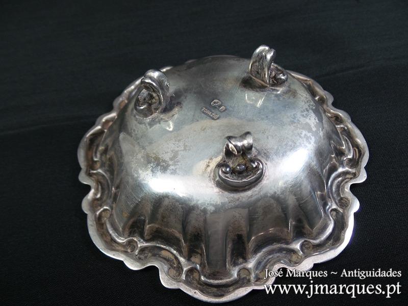 Saleiro em prata