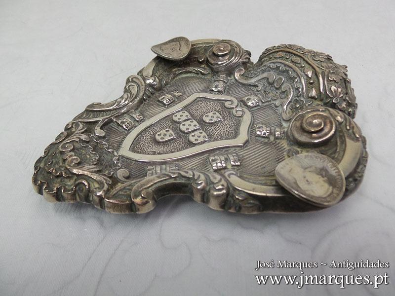 Cinzeiro prata Águia