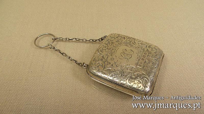 Bolsa prata Inglesa