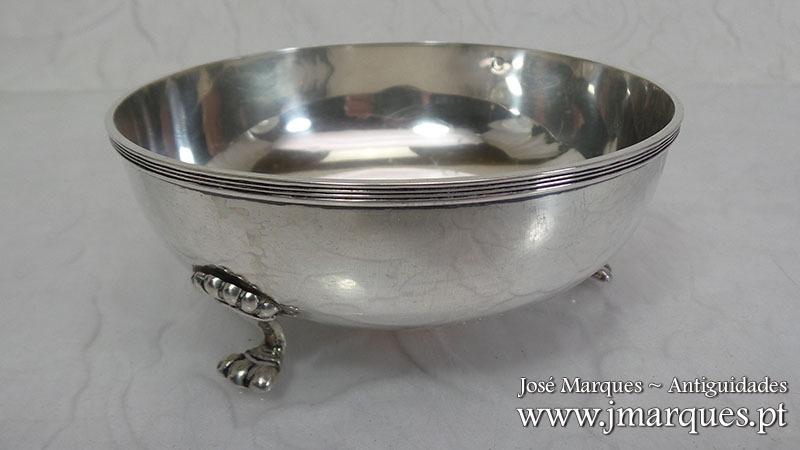 Taça em prata Águia