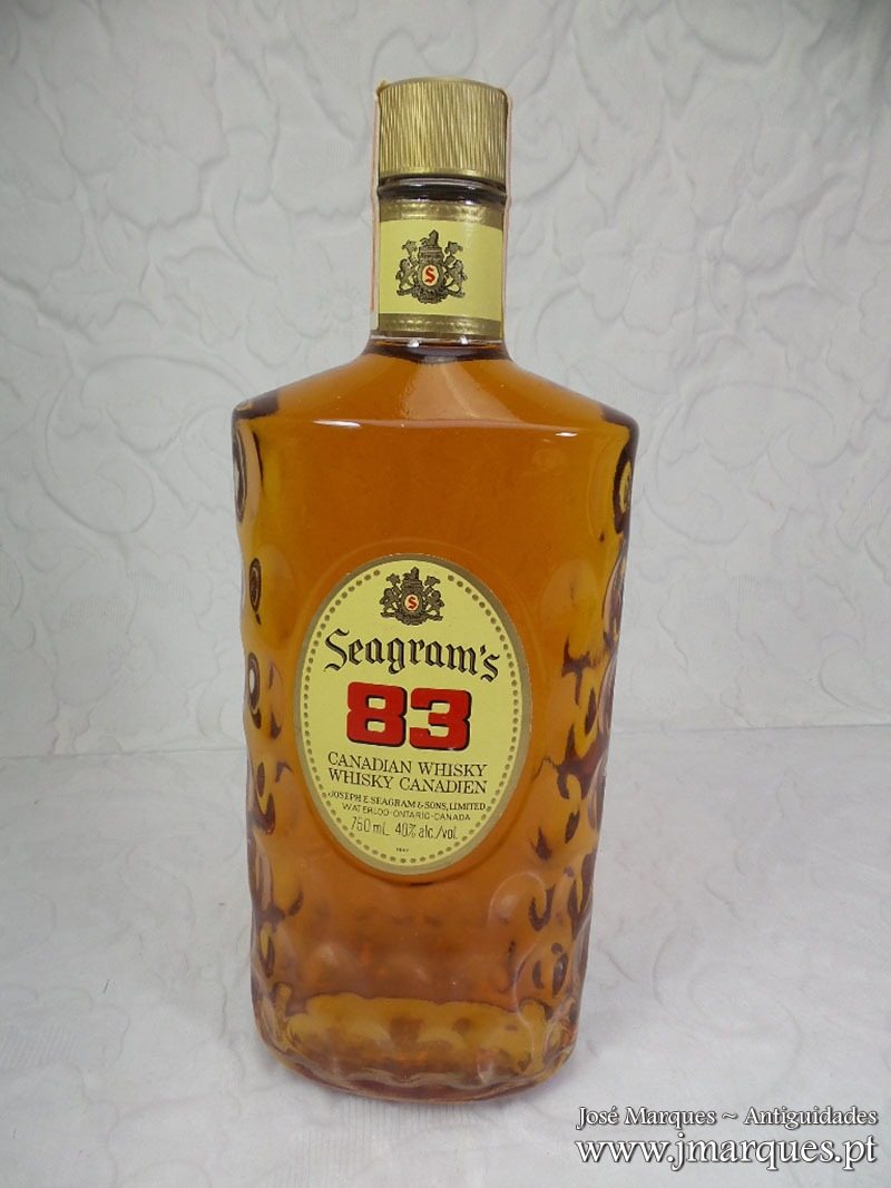 Whisky Seagrams 1983