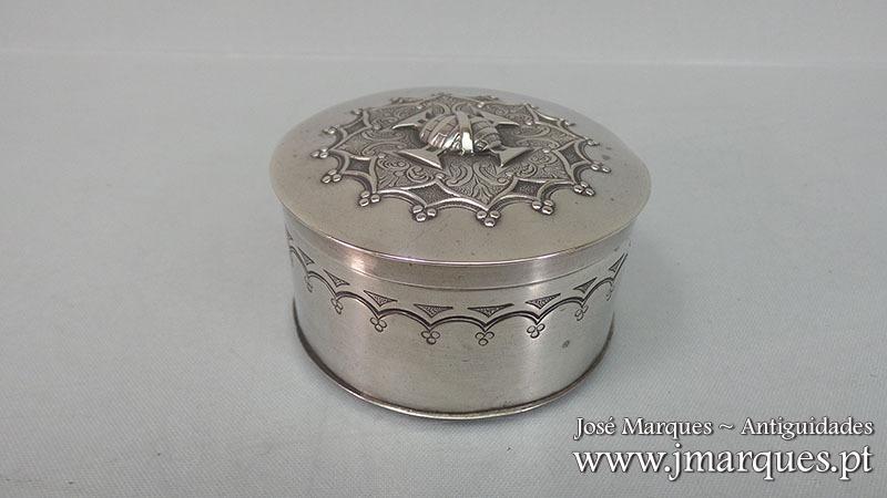 Caixa em Prata Javali