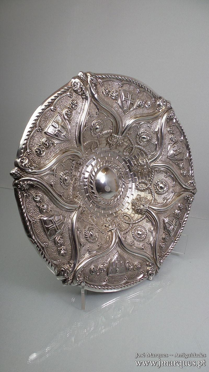 Fruteiro Manuelino prata