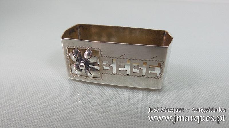 Argola em prata