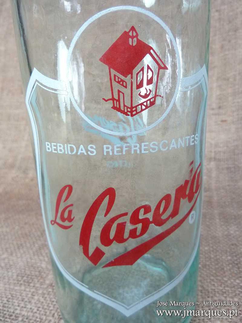 Garrafa em vidro La Casera