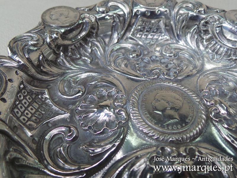 Taça em prata Javali