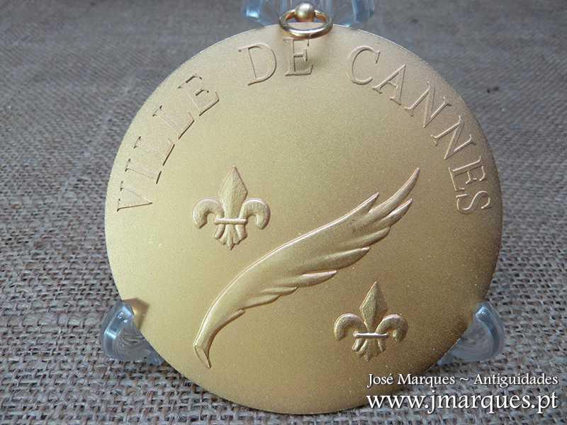Medalha em bronze