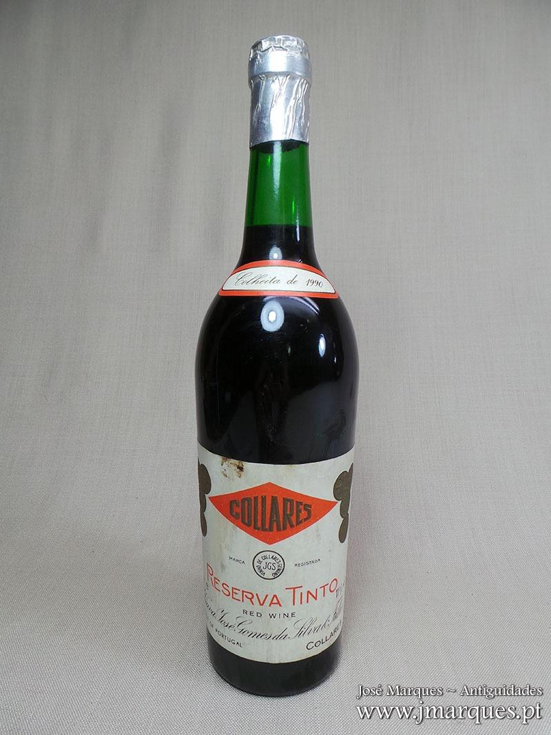 Vinho tinto Colares 1990
