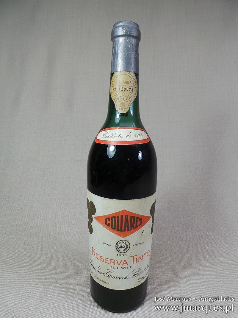 Vinho tinto Colares 1965