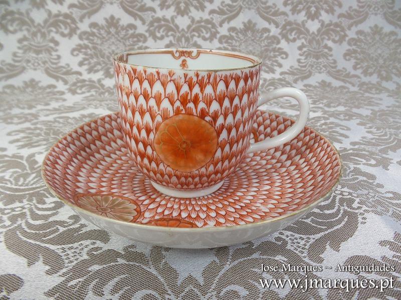 Chávena em porcelana da China